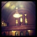 First Pres Church on Symphony Circle.