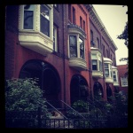 Row Houses on North Pearl.