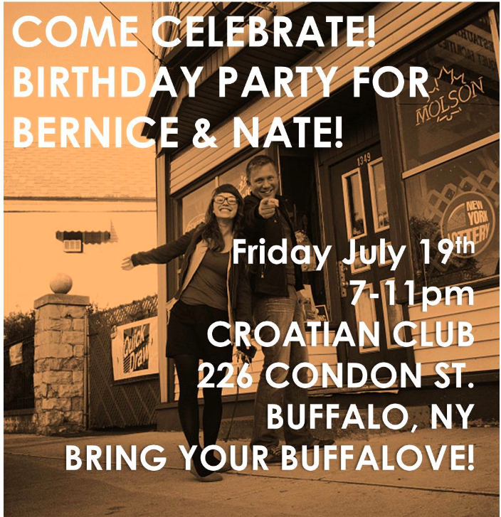 Bernice and Nate Party