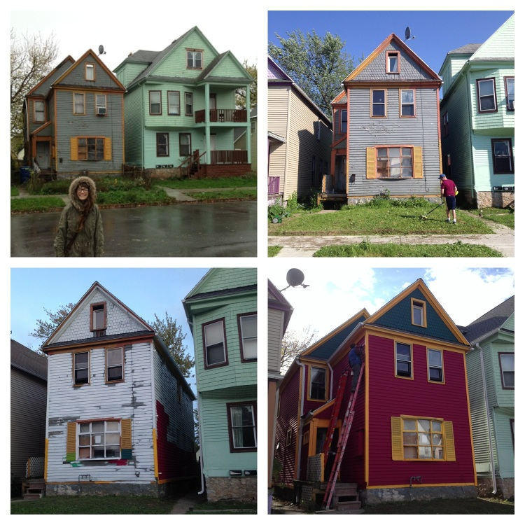 Whoa! Look What A Little Paint Can Do! Buffalove Development Goes Bold.