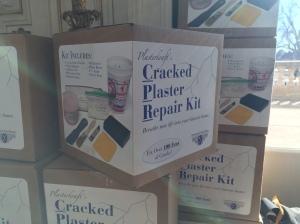YES PLEASE. Cracked Plaster Repair Kit!!!