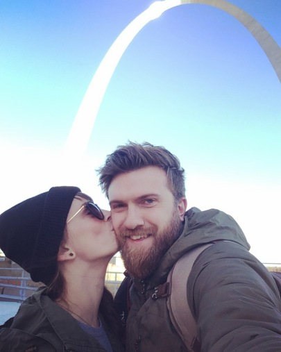 Smooches in St. Louis!